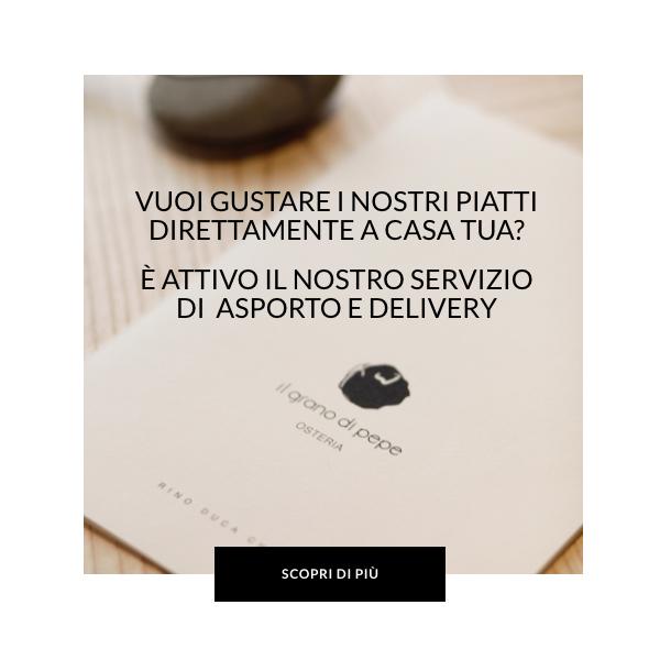 Web POP UP DELIVERY IL GRANO DI PEPE